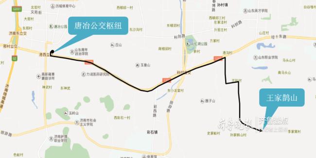 濟南公交開通K181路設站17座 詳細路線看這里