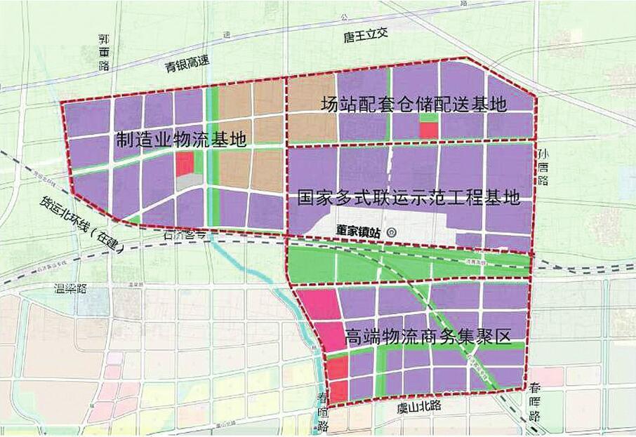 濟南物流中心核心區將這樣建