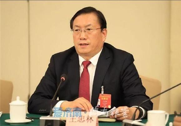王忠林在山东代表团审议政府工作报告