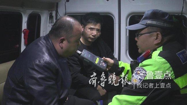 """俩小时,济南民警查获十名""""酒司机"""" 7起醉驾3起酒驾"""