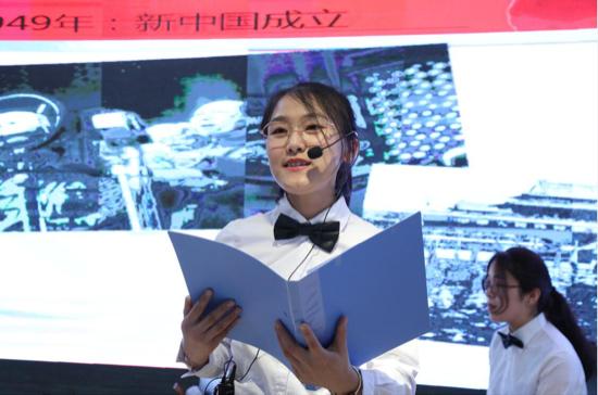 济南税务青年以舞台剧纪念五四运动100年