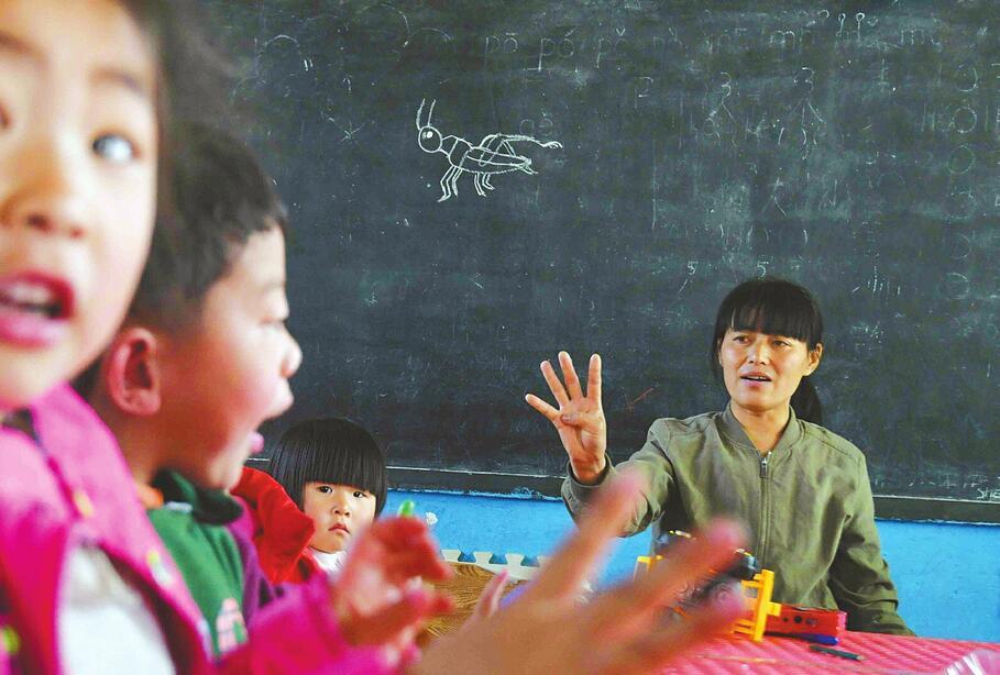 """[温暖泉城]只有一个老师的幼儿园:坚守山村20年,想干到""""干不动"""""""