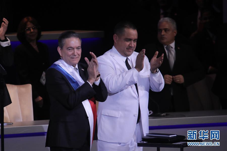 (国际)(1)巴拿马新总统宣誓就职