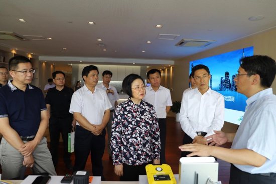 枣庄市委统战部调研组来济调研 王拥华参加活动