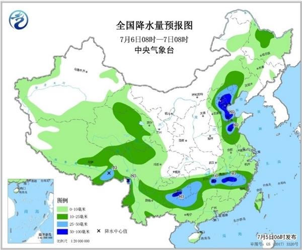 山东强对流天气来袭!现在降雨量最大的是商河