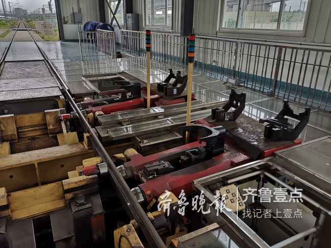 鲁南高铁全线唯一!临沂北动车所启动设备静态验收