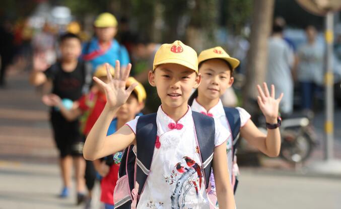 开学季!济南市中小学生迎来新学期