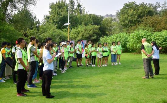 感受植物生长的魅力!全国科普日志愿者走进济南森林公园