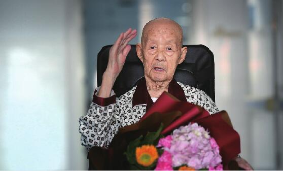 93岁老兵的心愿