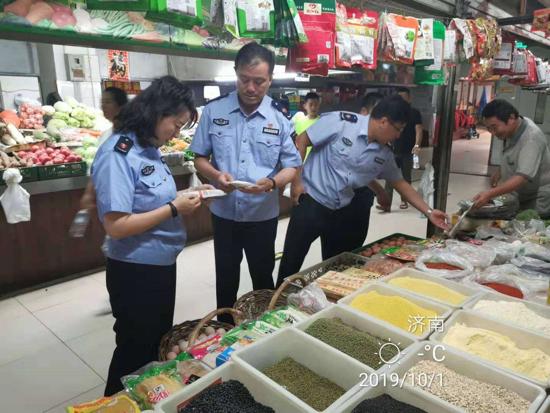 高新区开展国庆假日期间整治食品安全问题联合行动