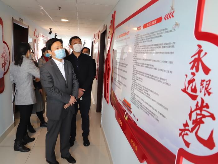 杜宝现到国商产业园调研新阶层企业疫情防控和复工复产情况