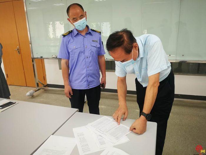 济南抽考部分重点商超企业食品安全管理人员