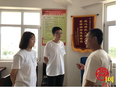山东中医药大学:三下乡服务队 青春之旅 爱心下乡工作纪实