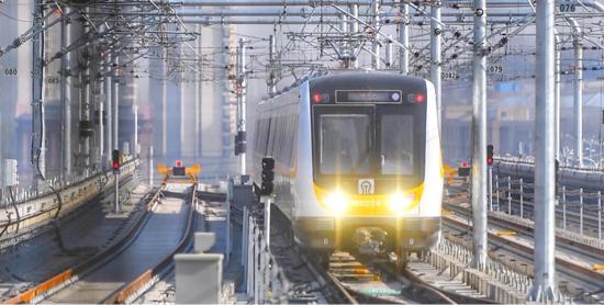 济南地铁2号线3月份将投入商业运营